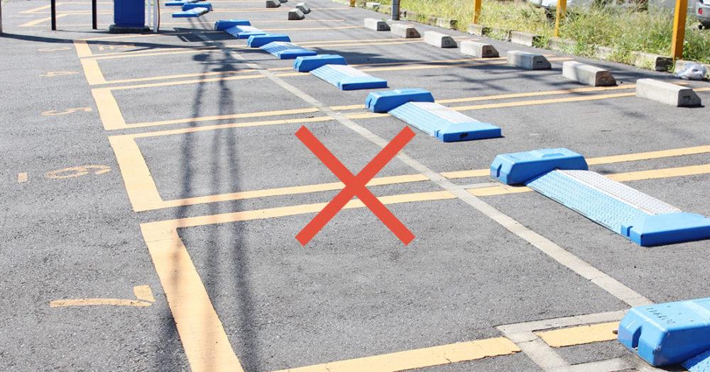 駐車場ありません